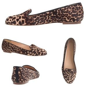 J. Crew Collection Sophie Calf Hair Loafers Flats